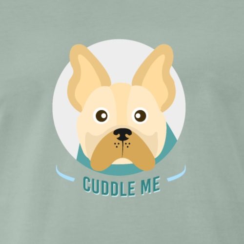 Französische Bulldogge - Männer Premium T-Shirt