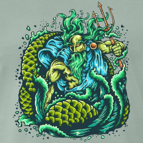 Gott des Meeres - Männer Premium T-Shirt