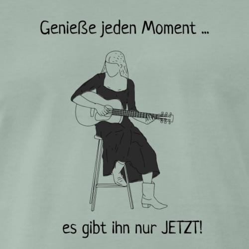 Geniesse jeden Moment - Gitarristin