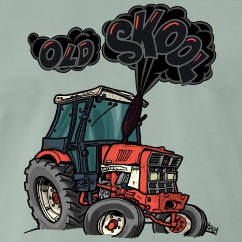 1015 OLD SKOOL IH Rook - Mannen Premium T-shirt