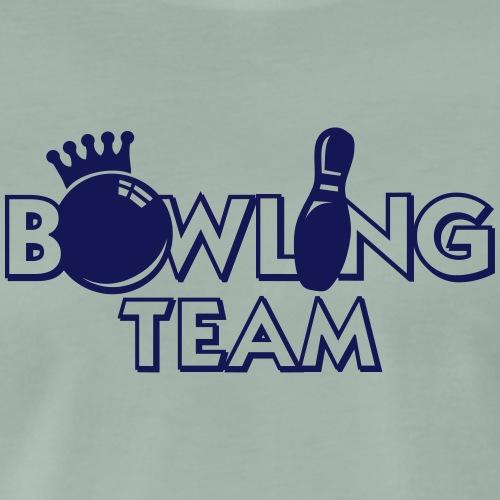 Bowling T-Shirt oder Hoodies selber gestalten - Männer Premium T-Shirt