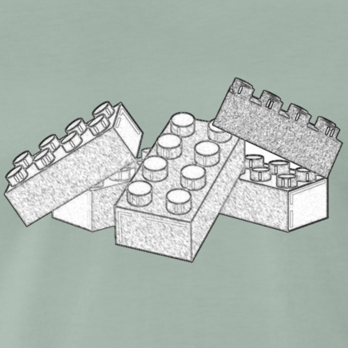 Good Old Bricks - Maglietta Premium da uomo