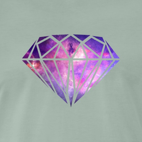 diamond luxury 3 - Camiseta premium hombre