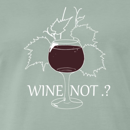 wine - T-shirt Premium Homme