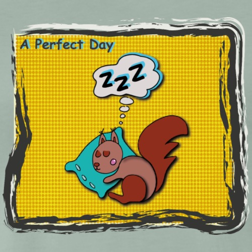 A perfect day - Schlafen - Männer Premium T-Shirt