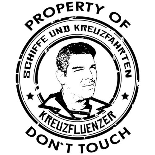 Property of your Highness RUND Black - Männer Premium T-Shirt