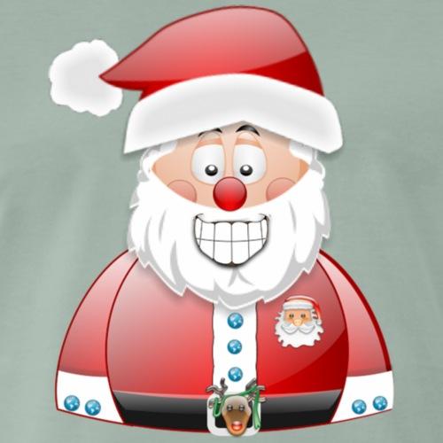 Santa Father Christmas - Men's Premium T-Shirt