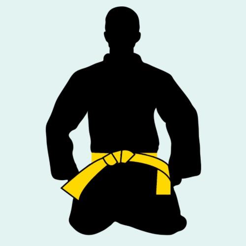 Judo Motiv Gelbgurt - Männer Premium T-Shirt