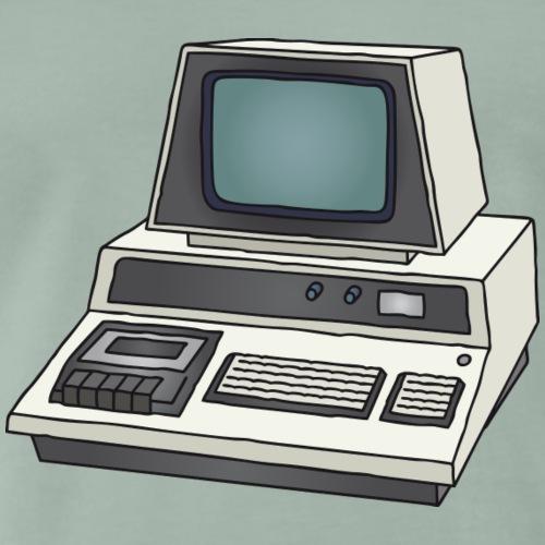 Personal Computer PC c - Männer Premium T-Shirt