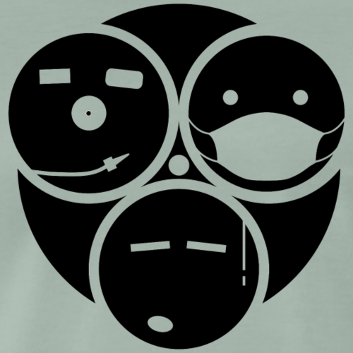 TRIO SMILE - T-shirt Premium Homme