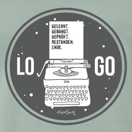 Examensshirt Retro - Männer Premium T-Shirt