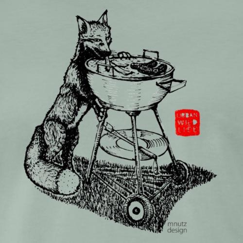 Urban Wildlife - Fuchs - Männer Premium T-Shirt