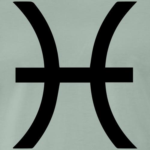 Fische, März, Sternzeichen, Astrologie, Horoskop - Männer Premium T-Shirt