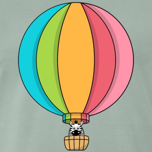 Zebra Zach Air Balloon