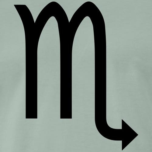 Skorpion, November, Sternzeichen, Astrologie - Männer Premium T-Shirt
