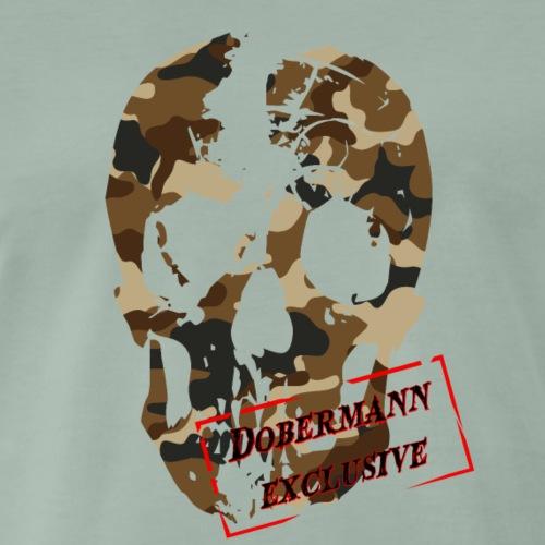 Camo skull Desert - Männer Premium T-Shirt