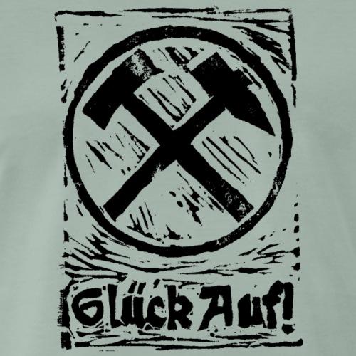 GlueckAuf - Männer Premium T-Shirt