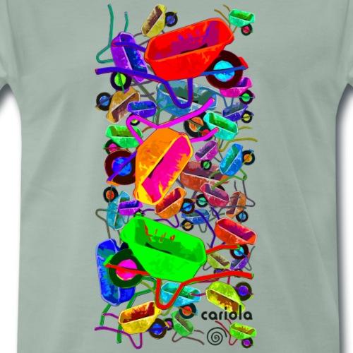 ququ png - Männer Premium T-Shirt
