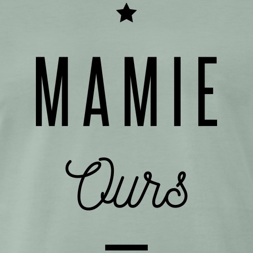 MAMIE OURS - T-shirt Premium Homme