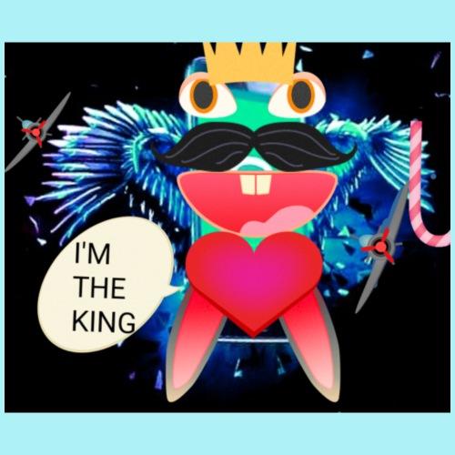 I 'm the king - T-shirt Premium Homme