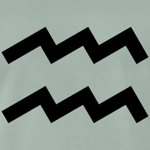 Wassermann, Februar, Sternzeichen, Astrologie - Männer Premium T-Shirt