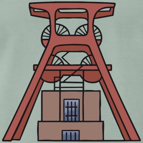 La miniera di Zollverein di Essen c - Maglietta Premium da uomo