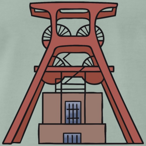 Zeche Zollverein Essen c - Männer Premium T-Shirt