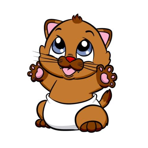Steppi Baby Katze01 - Männer Premium T-Shirt