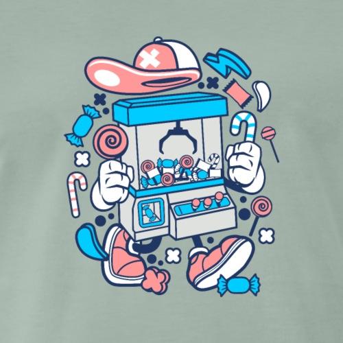 Kranmaschine - Männer Premium T-Shirt