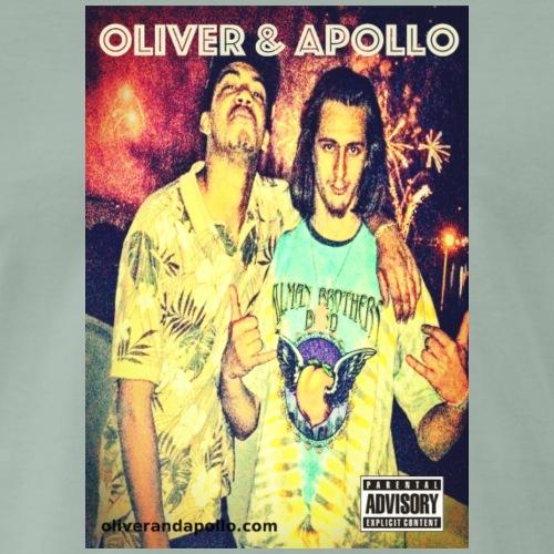 Oliver and Apollo Merchandise Round One! - Men's Premium T-Shirt