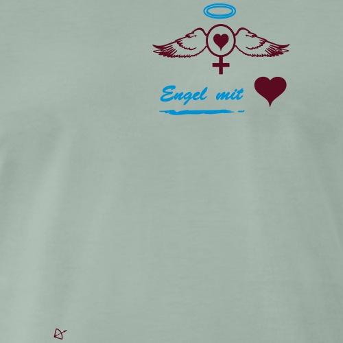 Engel Frau - Männer Premium T-Shirt