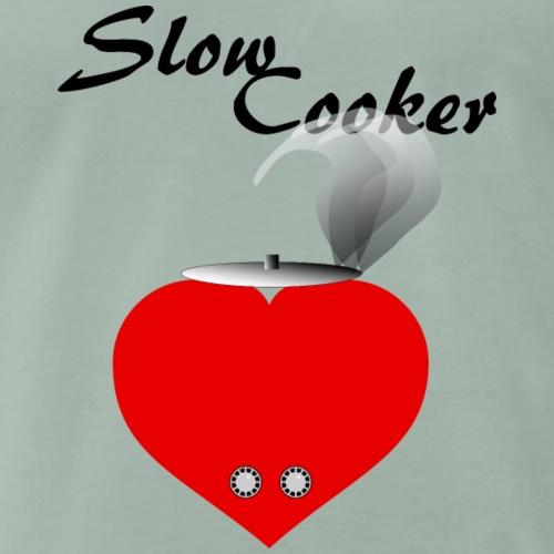 Slow Cooker - Männer Premium T-Shirt