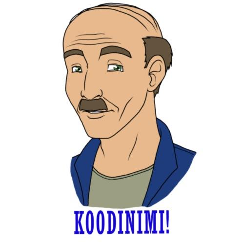 KOODINIMI - Miesten premium t-paita
