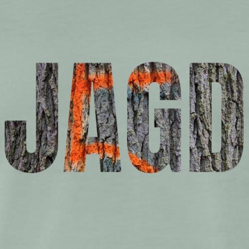 JAGD-Shirt für Jäger/innen, Motiv Drückjagdstand - Männer Premium T-Shirt