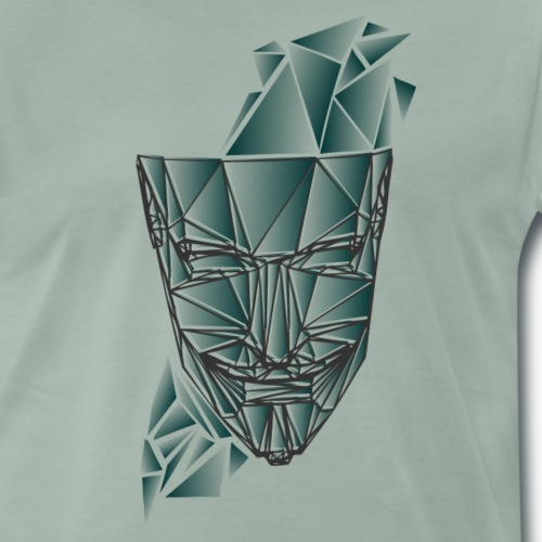 maske - Männer Premium T-Shirt