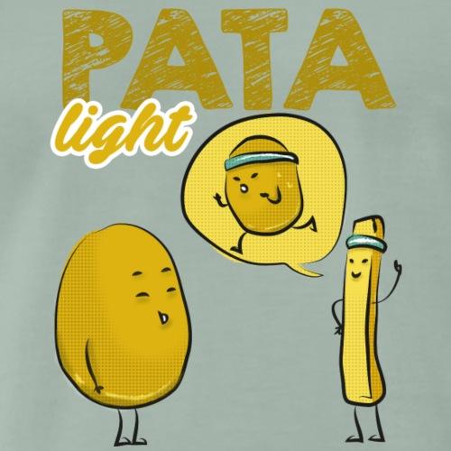 Patata light divertente fitness regali - Maglietta Premium da uomo
