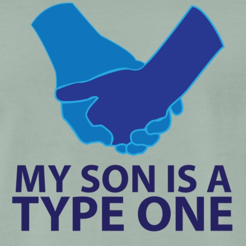 My Son is a Type One - Men's Premium T-Shirt