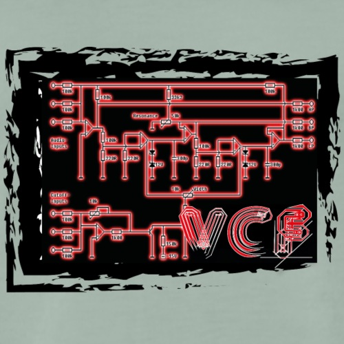VCF Synth Apparel - Men's Premium T-Shirt