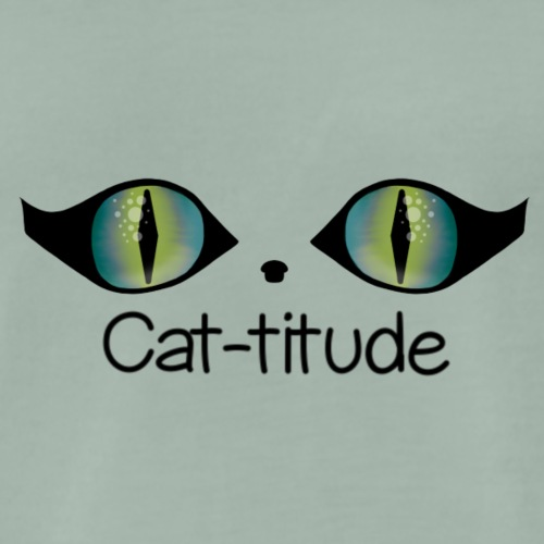 Cat-titude - Men's Premium T-Shirt