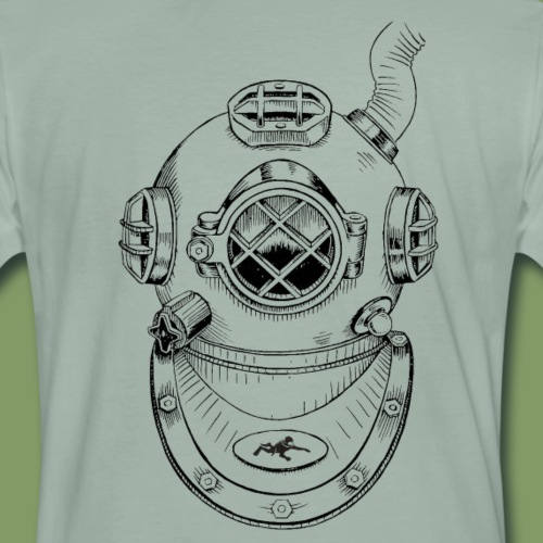 Taucherhelm - Männer Premium T-Shirt