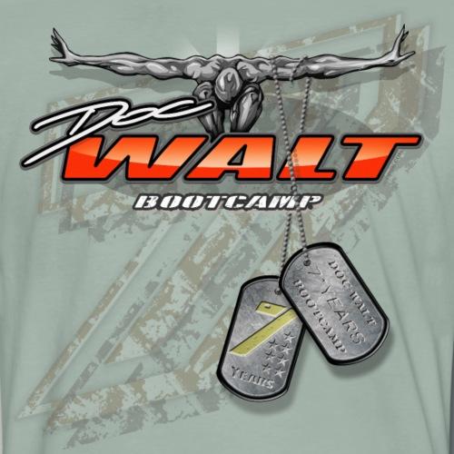 DOCw7years Logo - Männer Premium T-Shirt