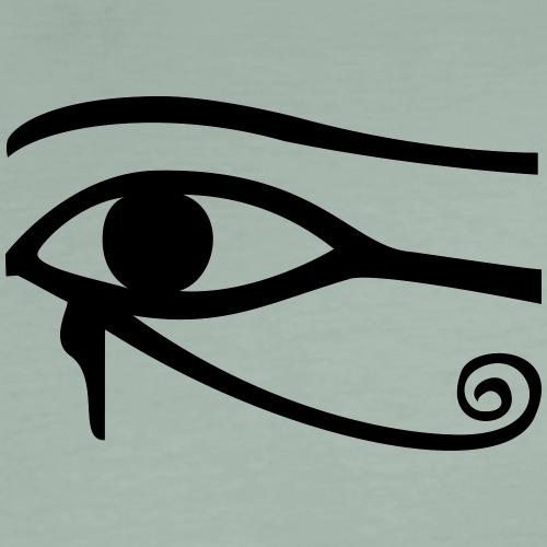 Horusauge Eye of Horus udjat wadjet protect - Männer Premium T-Shirt