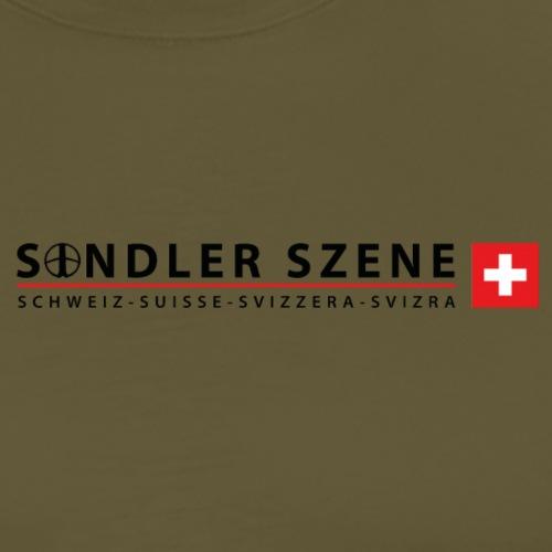 Sondler Szene Schweiz Logo breit - Männer Premium T-Shirt