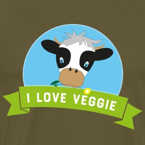 vegetarian - Men's Premium T-Shirt