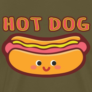 HOT DOG - Männer Premium T-Shirt