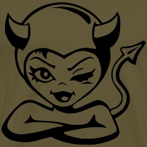 Devil Teufelin - Männer Premium T-Shirt