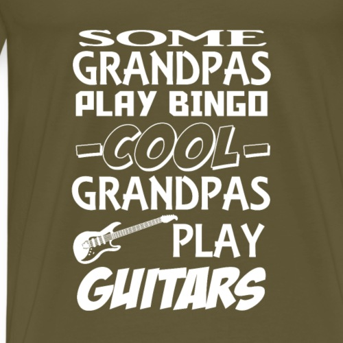 Grandpa Guitars - Men's Premium T-Shirt