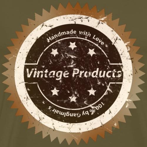 Vintage Logo used - Männer Premium T-Shirt
