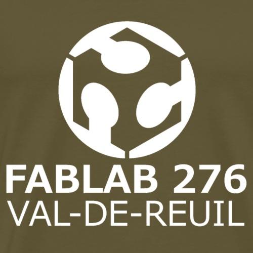 Logo FabLab 276 couleurs - T-shirt Premium Homme