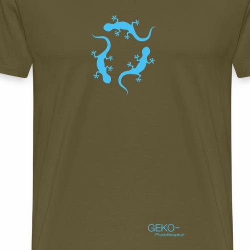 GEKO türkis - Männer Premium T-Shirt